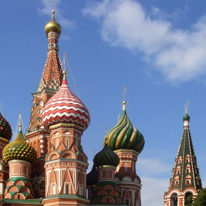St Basil's Cathedral Moscow, Alex Zelenko Creative Commons License 3