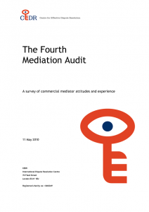 The Fourth Mediation Audit
